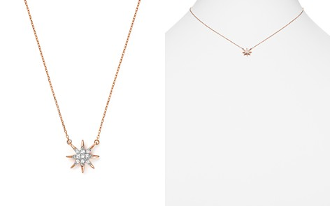"Adina Reyter 14K Rose Gold Pavé Diamond Starburst Pendant Necklace, 15"" - Bloomingdale's_2"
