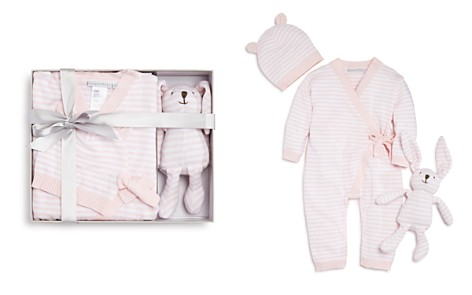 Elegant Baby Girls' Bodysuit, Hat & Bunny Gift Set, Baby - 100% Exclusive - Bloomingdale's_2