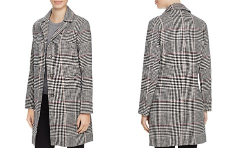 Louise Paris Houndstooth Check Coat - 100% Exclusive - Bloomingdale's_2