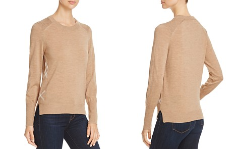 Burberry Meigan Check Side Sweater - Bloomingdale's_2