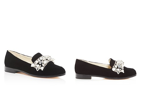 Bettye Muller Women's Revel Embellished Velvet Loafers - Bloomingdale's_2