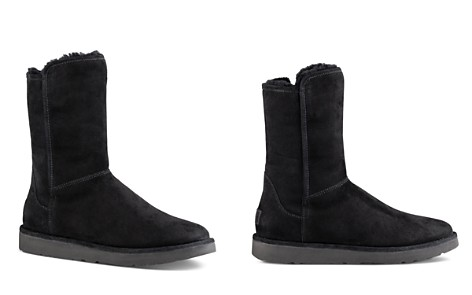 UGG® Abree ll Short Suede and Sheepskin Boots - Bloomingdale's_2