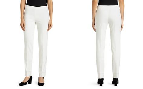 Lafayette 148 New York Bleecker Straight-Leg Pants - Bloomingdale's_2