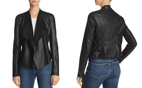 FRENCH CONNECTION Stephanie Pu Faux-Leather Jacket - Bloomingdale's_2