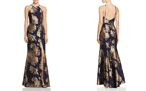 Avery G Floral Brocade Gown - Bloomingdale's_2