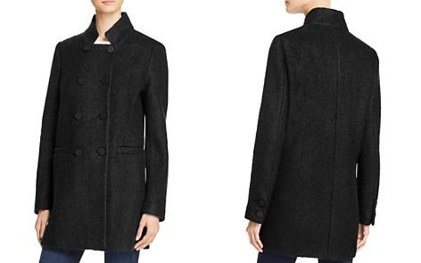 T Tahari Harper Double-Breasted Front Coat - Bloomingdale's_2