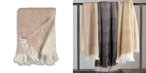 Michael Aram Dip Dye Mohair Throw - Bloomingdale's_2