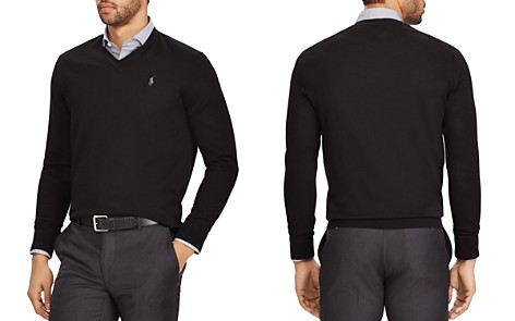 Polo Ralph Lauren V-Neck Merino Wool Sweater - Bloomingdale's_2