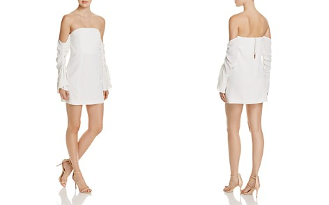 C/MEO Collective Right Kind of Madness Off-the-Shoulder Dress - Bloomingdale's_2