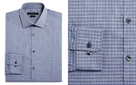 John Varvatos Star USA Grid Check Slim Fit Dress Shirt - Bloomingdale's_2