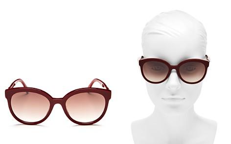 Fendi Mirrored Round Sunglasses, 56mm - Bloomingdale's_2