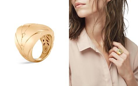 John Hardy 18K Gold Modern Chain Ring - Bloomingdale's_2