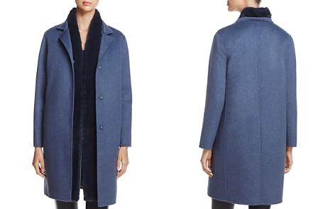 Maximilian Furs Wool & Cashmere Coat with Detachable Mink Fur Vest - Bloomingdale's_2