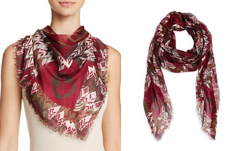 Zadig & Voltaire Kerry Feather Butterfly Scarf - Bloomingdale's_2