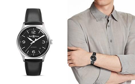 Bell & Ross BR V1-92 Black Steel Watch, 38.5mm - Bloomingdale's_2