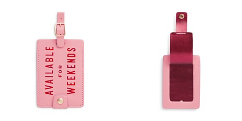 ban.do Available for Weekends Getaway Luggage Tag - Bloomingdale's_2