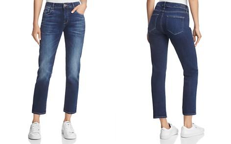 PAIGE Brigitte Straight Jeans in Enchant - Bloomingdale's_2