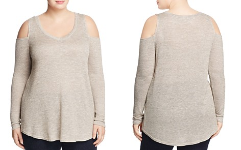 Love Ady Plus Cold Shoulder Top - 100% Exclusive - Bloomingdale's_2