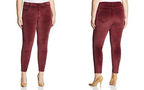NYDJ Plus Ami Velvet Skinny Legging Jeans in Deep Currant - 100% Exclusive - Bloomingdale's_2