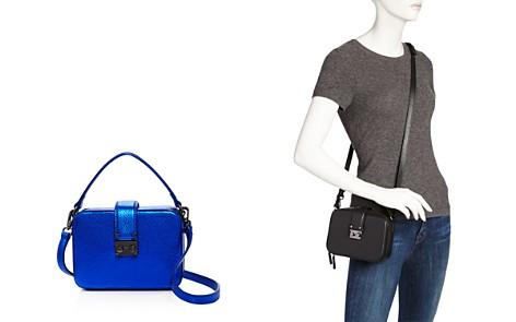 AQUA Tada Square Leather Crossbody - 100% Exclusive - Bloomingdale's_2