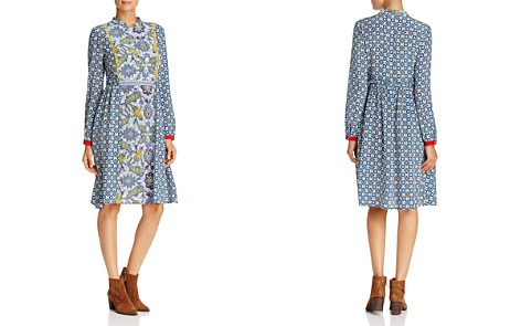Weekend Max Mara Vite Multi-Botanical-Print Dress - Bloomingdale's_2