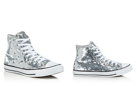 Converse Women's Chuck taylor All Star Sequin High Top Sneakers - Bloomingdale's_2