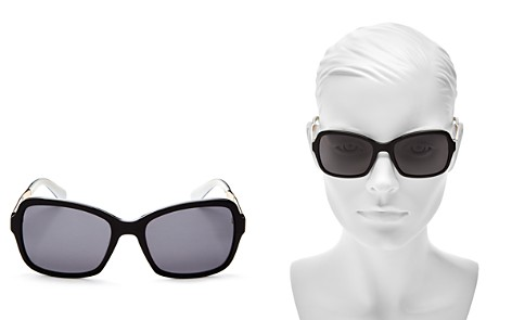 kate spade new york Women's Annjanette Polarized Square Sunglasses, 54mm - Bloomingdale's_2