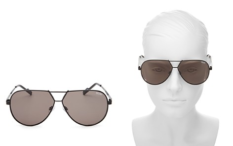 Quay Supernova Aviator Sunglasses, 51mm - Bloomingdale's_2