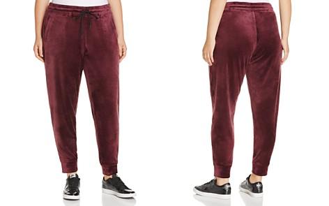 Marc New York Performance Plus Velvet Jogger Pants - Bloomingdale's_2