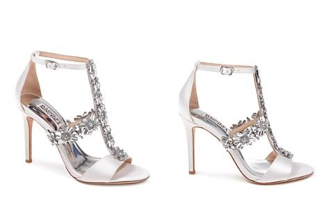 Badgley Mischka Women's Munroe Embellished Satin High-Heel Sandals - Bloomingdale's_2