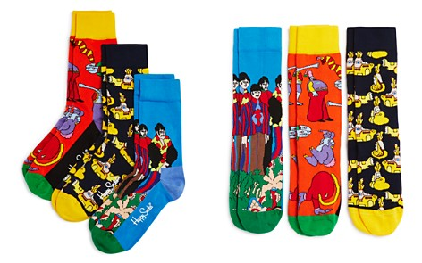 Happy Socks The Beatles Socks Box, Set of 3 - Bloomingdale's_2