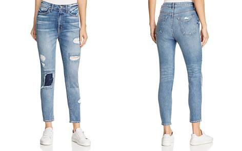 Derek Lam 10 Crosby Tali High-Rise Authentic Skinny Jeans in Medium Wash - Bloomingdale's_2