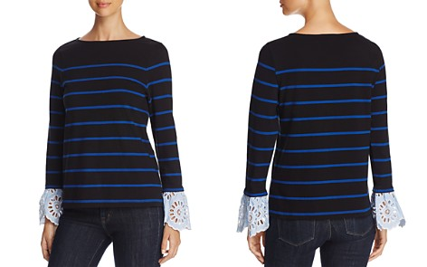 BeachLunchLounge Lace Trim Sailor Top - Bloomingdale's_2