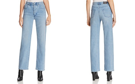 Burberry Straight-Leg Jeans in Light Stone Blue - Bloomingdale's_2