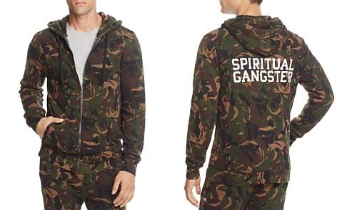 Spiritual Gangster Camouflage Varsity Zip Hooded Sweatshirt - Bloomingdale's_2