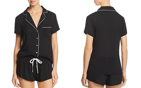 Splendid Intimates Piped Short Pajama Set - Bloomingdale's_2
