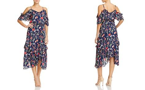 Parker Kam Floral-Print Ruffled Silk Midi Dress - Bloomingdale's_2