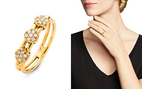 Hulchi Belluni 18K Yellow Gold Tresore Diamond Ring - Bloomingdale's_2