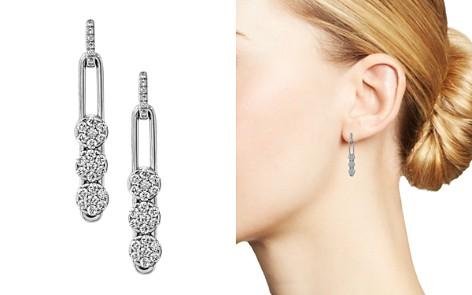 Hulchi Belluni 18K White Gold Tresore Diamond Trio Linear Drop Earrings - Bloomingdale's_2