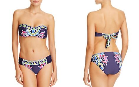 Trina Turk Lotus Batik Bandeau Bikini Top & Lotus Batik Reversible Bikini Bottom - Bloomingdale's_2
