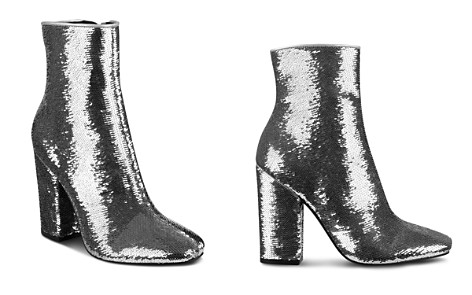 KENDALL and KYLIE Women's Haedyn Sequined High Block Heel Booties - Bloomingdale's_2