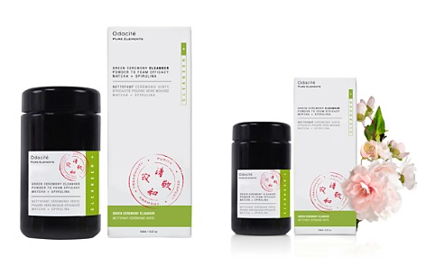 Odacite Green Ceremony Cleanser Powder to Foam Efficacy - Matcha + Spirulina - Bloomingdale's_2