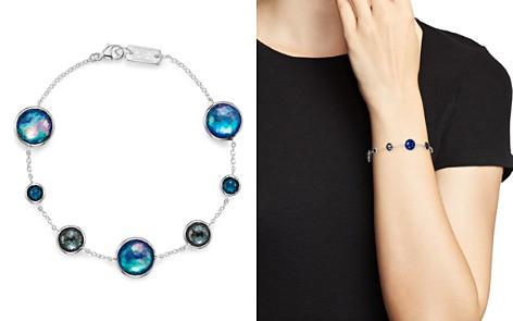 IPPOLITA Sterling Silver Lollipop Lapis Triplet, London Blue Topaz & Hematite Bracelet in Eclipse - Bloomingdale's_2