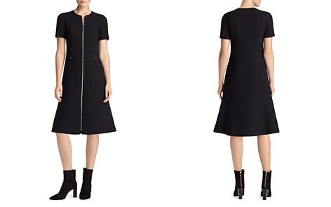 Lafayette 148 New York Sonya Zip-Front Sheath Dress - Bloomingdale's_2