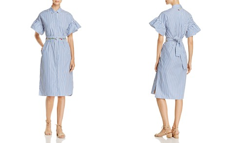 Weekend Max Mara Orfeo Embroidery-Detail Striped Dress - Bloomingdale's_2
