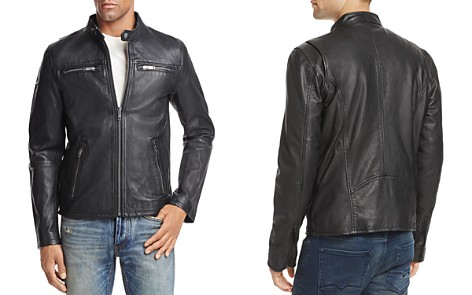 Superdry Classic Real Hero Leather Jacket - Bloomingdale's_2