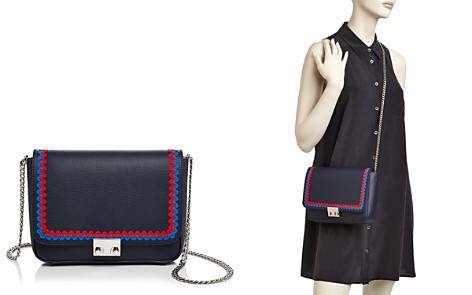 Loeffler Randall Lock Saffiano Leather Shoulder Bag - Bloomingdale's_2