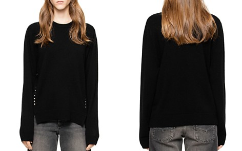 Zadig & Voltaire Genna Wool & Cashmere Sweater - Bloomingdale's_2