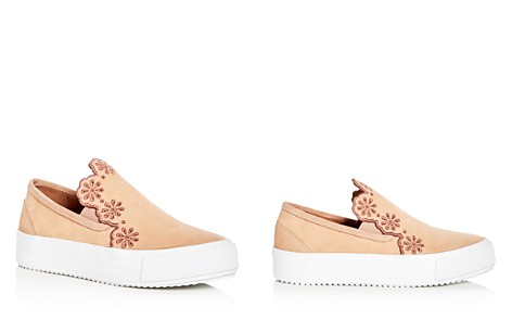 See by Chloé Women's Inlai Suede Slip-On Platform Sneakers - Bloomingdale's_2