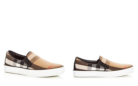 Burberry Women's Gauden Signature Check Slip-On Sneakers - Bloomingdale's_2